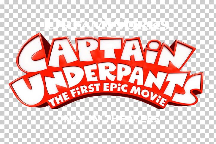 Logo Captain Underpants Brand Blu.