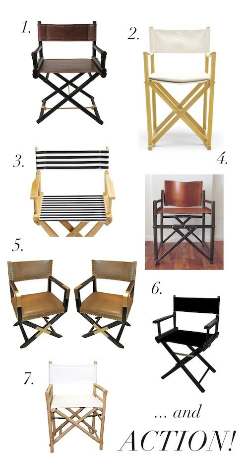 1000+ ideas about Director's Chair on Pinterest.