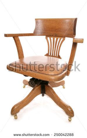 Captains Chair Stock Photos, Royalty.