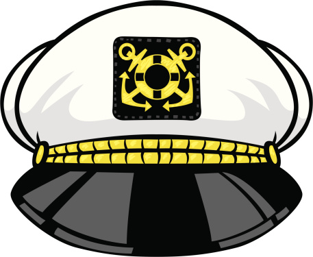 Captain's hat clipart #13