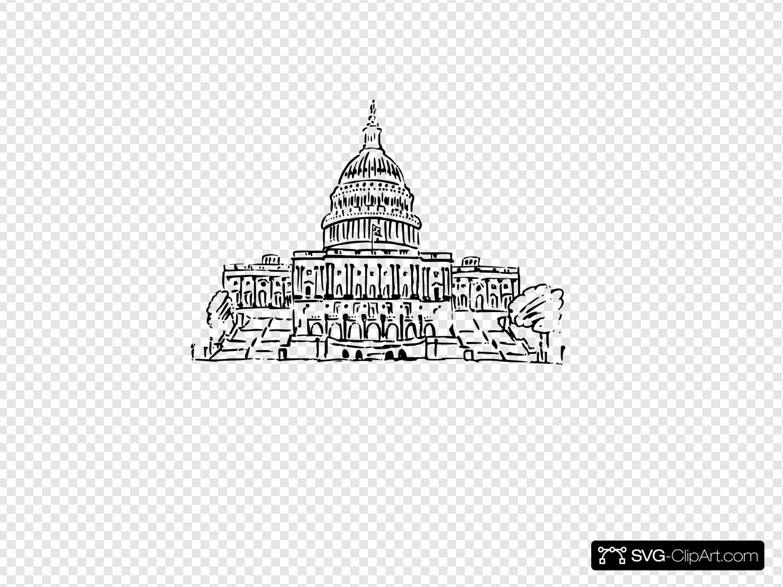 Capital Clip art, Icon and SVG.