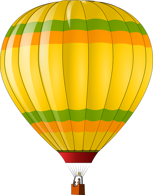 Free vector graphic: Hot Air Balloon, Transport.