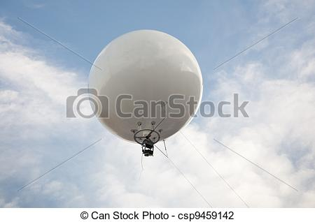 Stock Photo of Captive balloon.