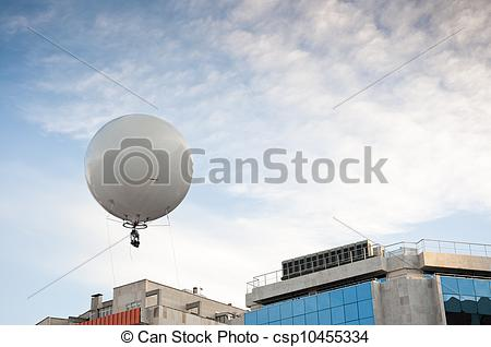 Stock Photos of Captive balloon.