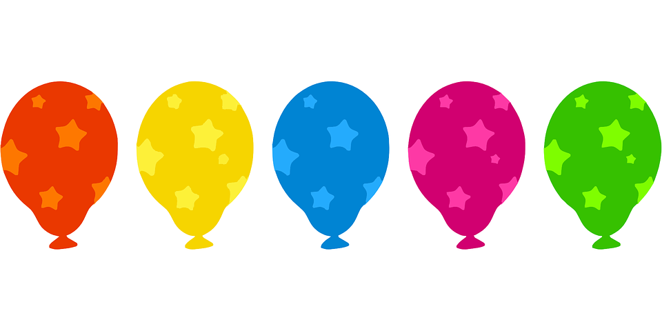Free vector graphic: Balloons, Inflated, Air.