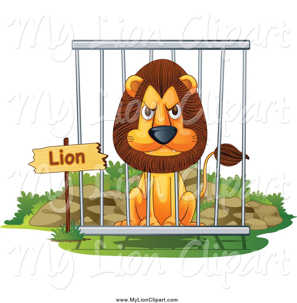 Royalty Free Captivity Stock Lion Designs.