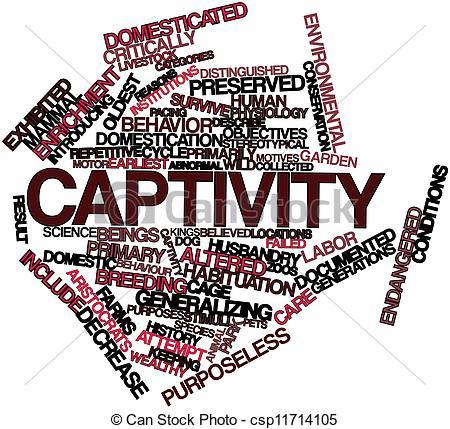 Stock Illustration of Captivity.