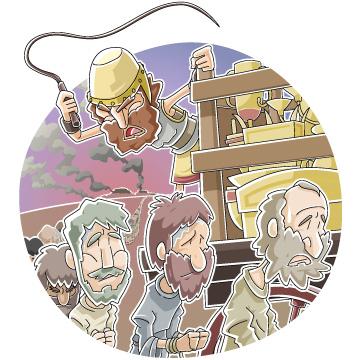 Christian clipArts.net _ Babylonian captivity.