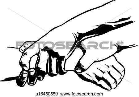 Clip Art of illustration, lineart, captured, arrested, capture.