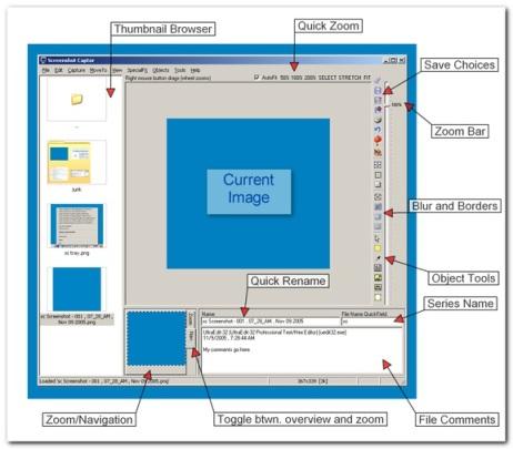 Capture and Annotate Screenshots with Screenshot Captor.