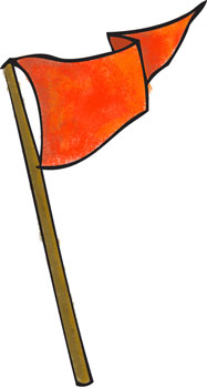 Capture the flag clipart.
