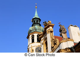 Pictures of Capuchin monastery in Brno, Czech Republic csp3957328.