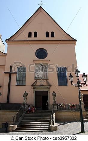 Stock Photo of Capuchin monastery in Brno, Czech Republic.