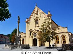 Stock Photographs of Capuchin church.