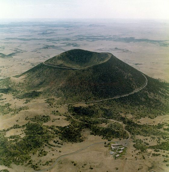 Capulin Volcano National Monument, located in northeastern New.