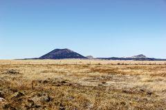 Capulin Volcano Stock Photo.