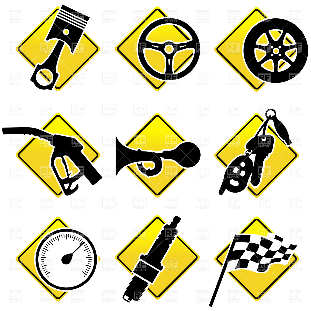 Dashboard Clipart.