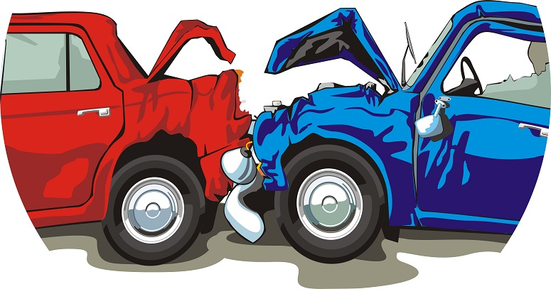 Car accident clipart free.