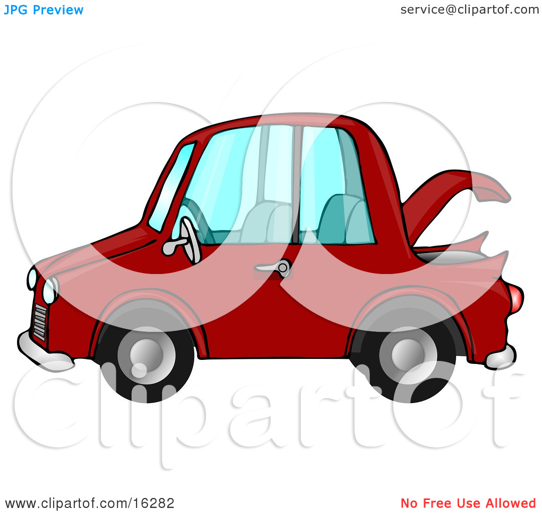 Car Trunk Clipart.