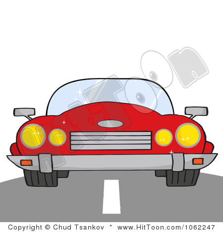 Images: Car On Road Clipart.