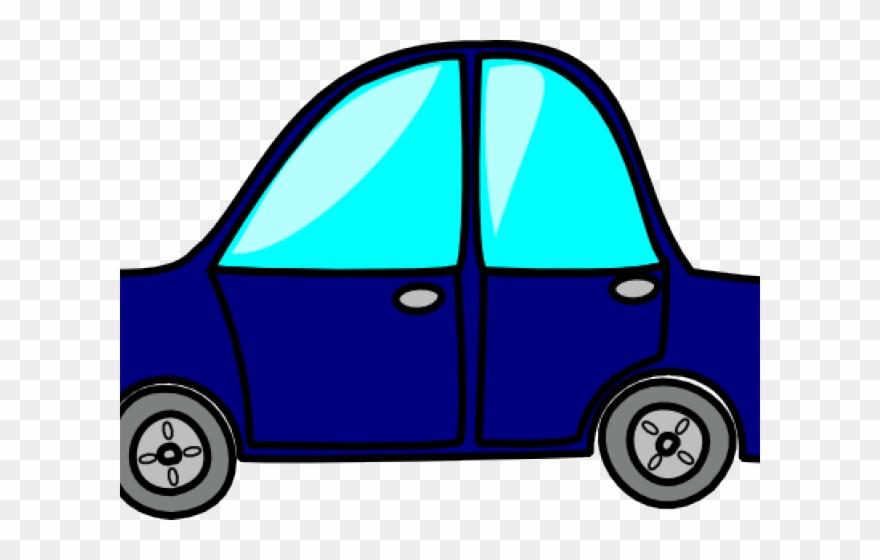 Blue Car Clipart Toy.