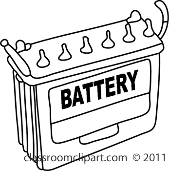 Showing post & media for Cartoon car battery clip art.