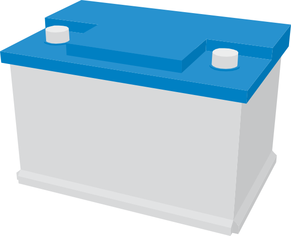 Free car battery clipart.