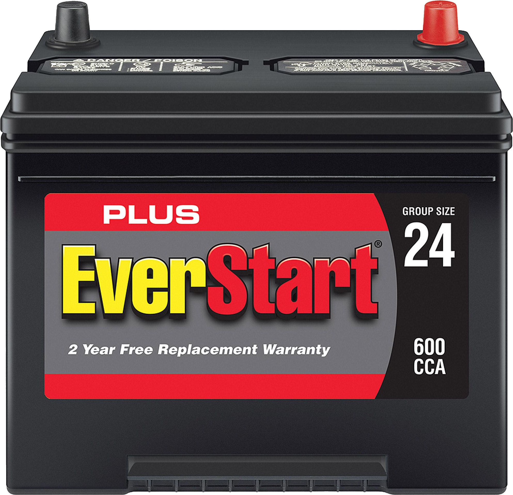 Automotive Battery PNG Image.