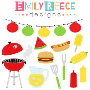 End Of Summer Bbq Clipart.