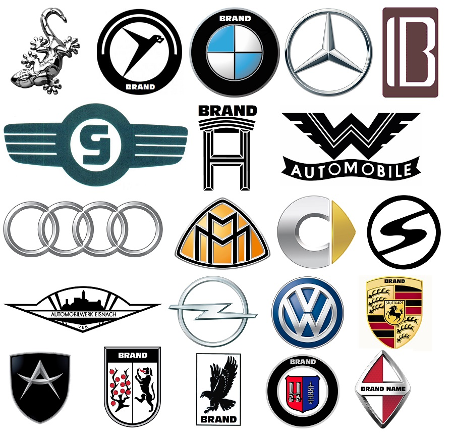 German Car Logos.