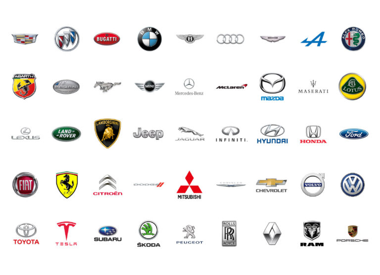 44 Famous Car Logos and Their Fascinating Evolution and.