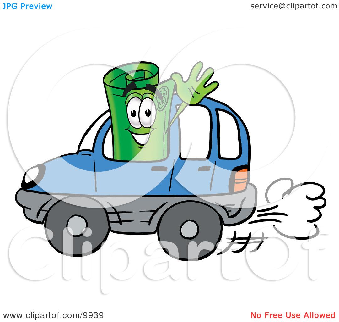 Car Money Clipart.