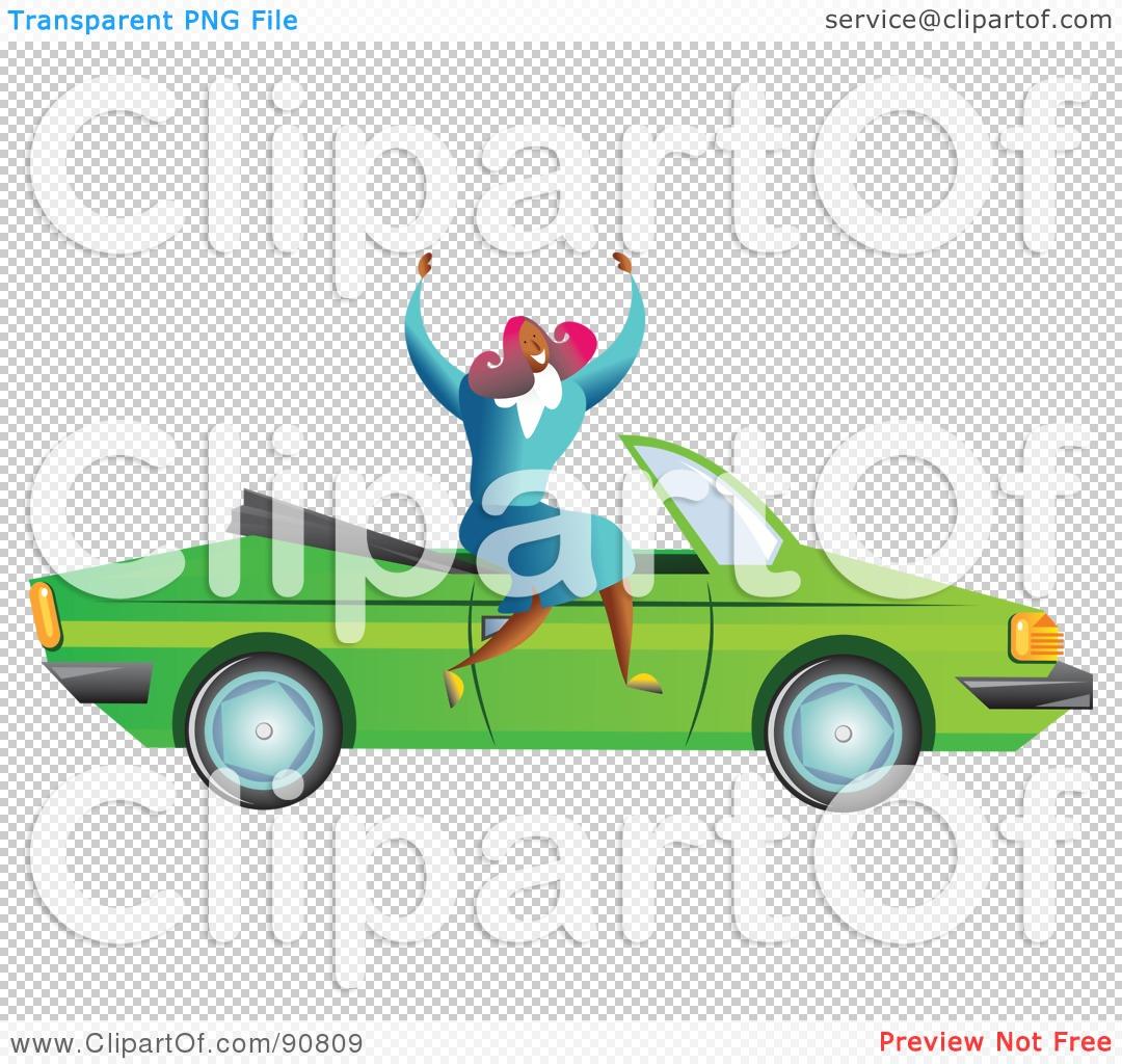 Car Business Success Clipart.