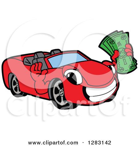 Money Car Clipart.