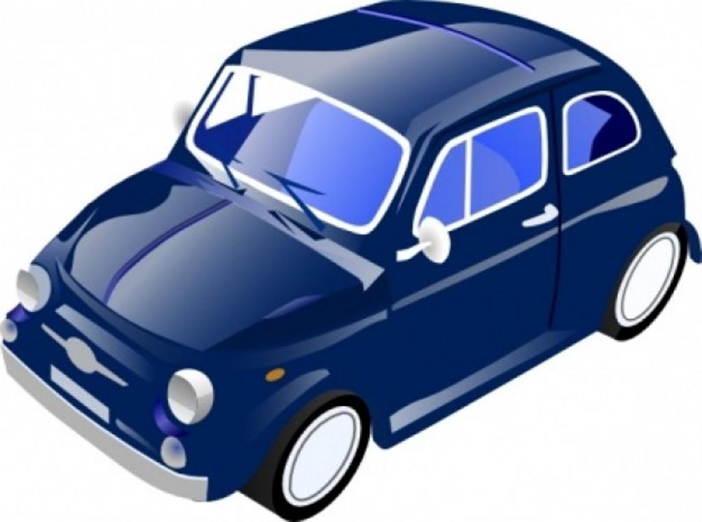 Clip Art Blue Cars Clipart.
