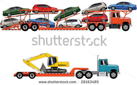 Clipart Car Transporter.