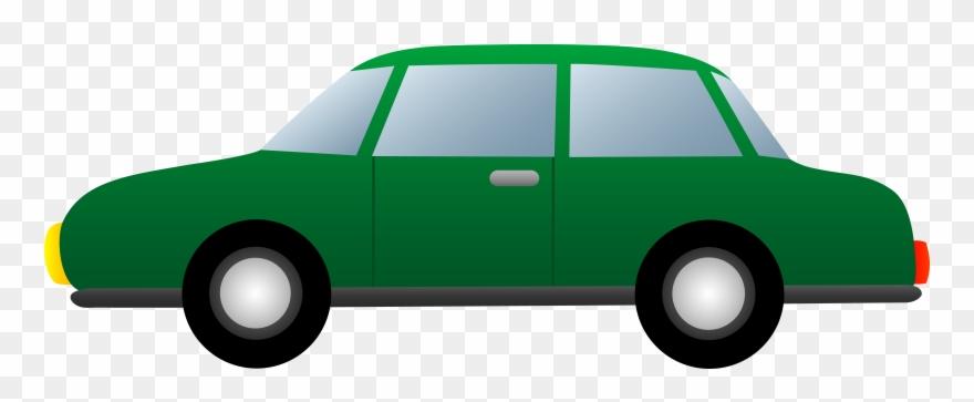 Simple Green Car.