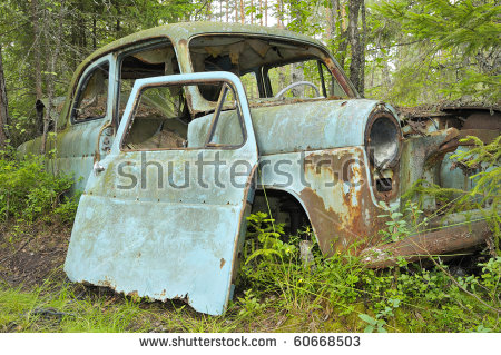 Car Dump Stock Photos, Royalty.