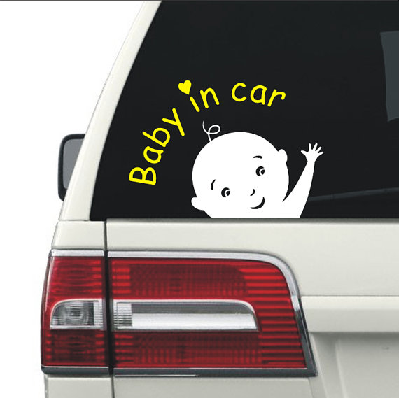 Baby in Car Clipart svg ai dxf cdr pat jpeg png by GDrawZ.