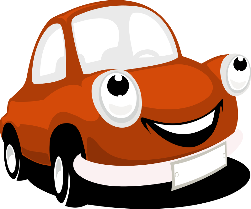 Free Clipart: Cartoon Car.