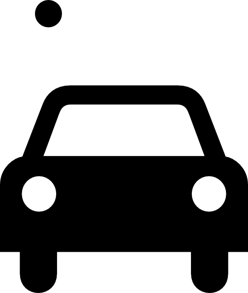 Car Black And White Clipart.