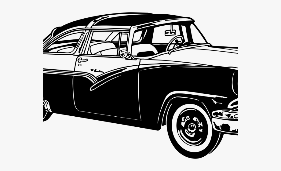Classic Car Clipart Transparent.
