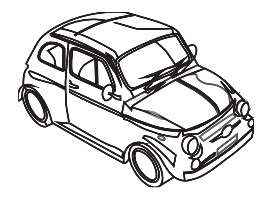 Best Car Clipart Black And.