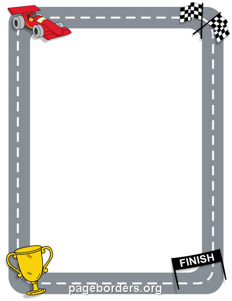 Free Vehicle Borders: Clip Art, Page Borders, and Vector Graphics.