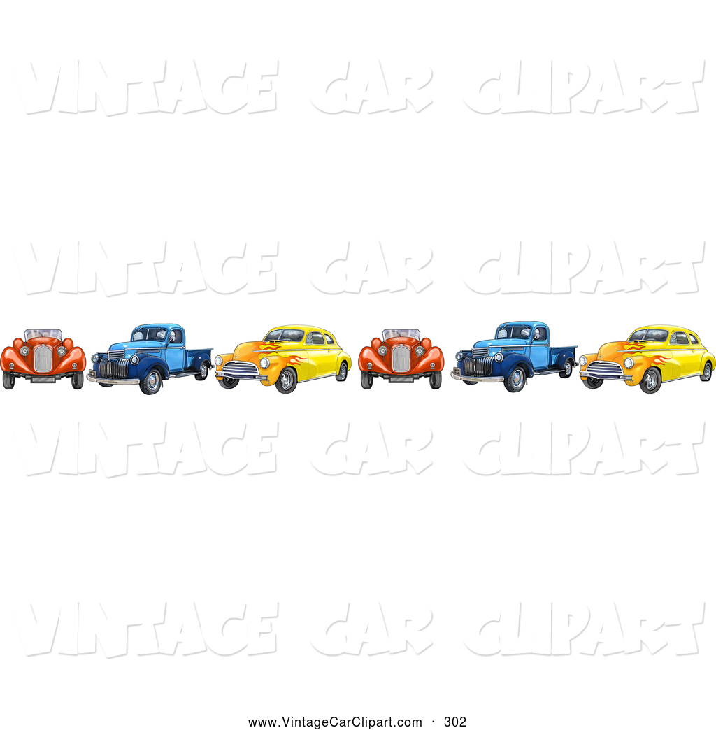 Royalty Free Truck Stock Vintage Car Designs.