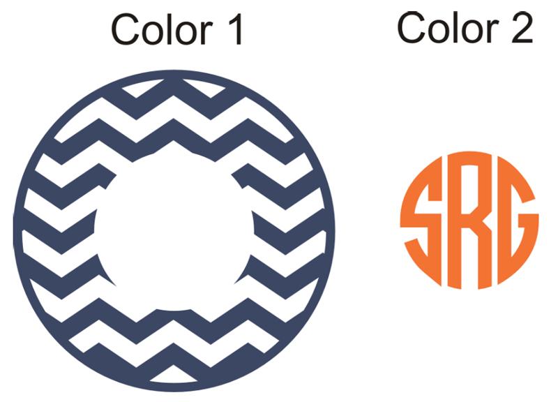 Clipart Circle Monogram.