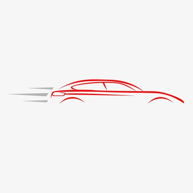 Vector Car, Car Clipart, Car, Line Drawing PNG Transparent.