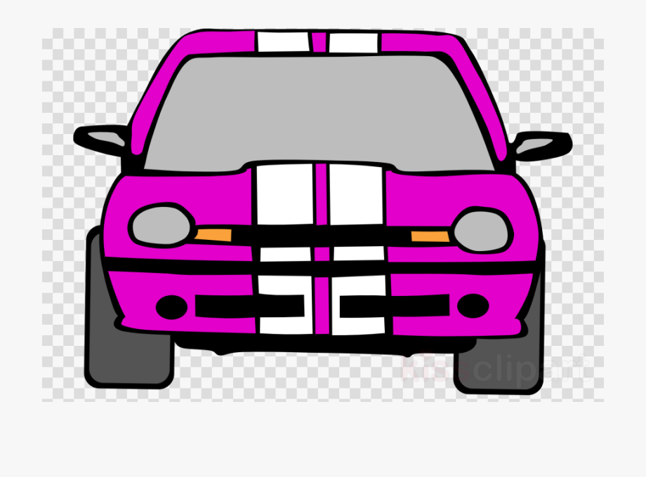 Car, Illustration, Pink, Transparent Png Image & Clipart.