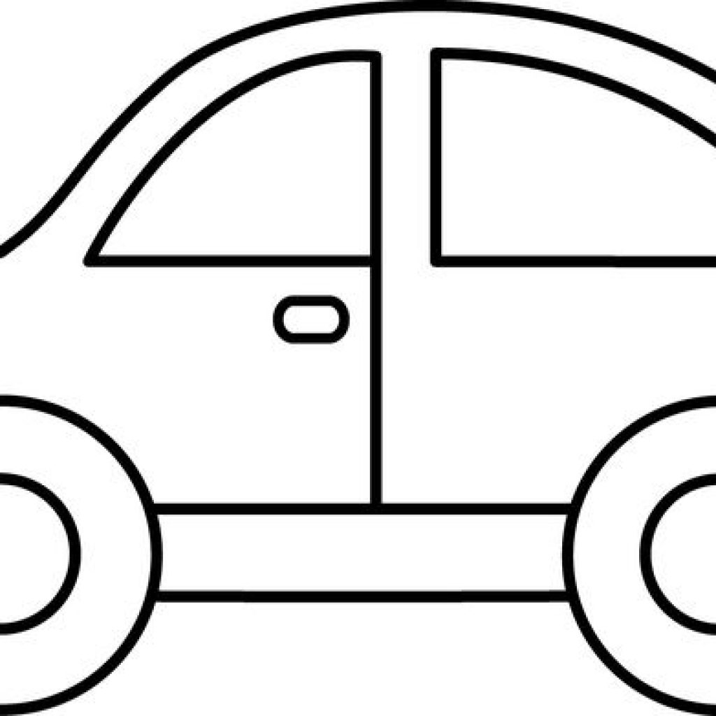 car clipart black and white.