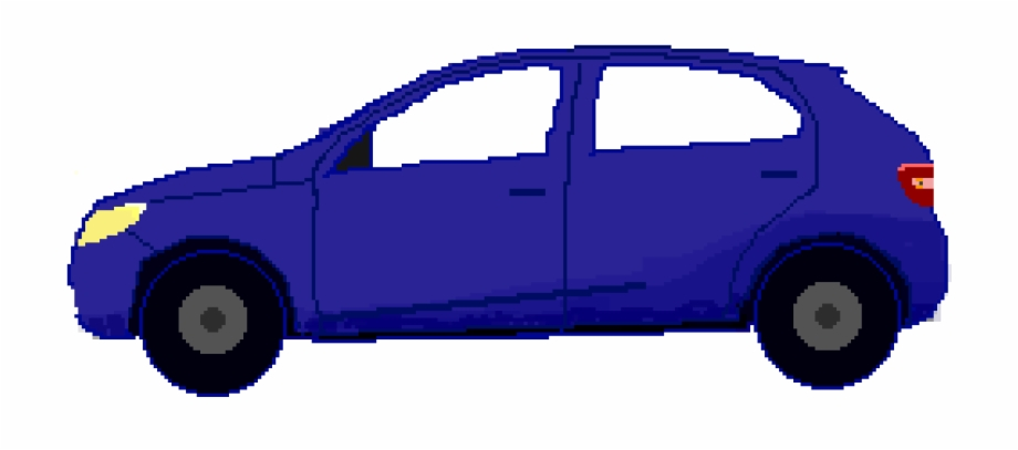Car Side View.